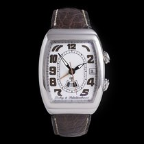Dubey & Schaldenbrand Steel 37mm Automatic SONNERIE GMT (RO 3304) pre-owned
