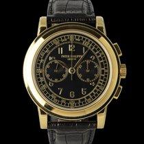 Patek Philippe Chronograph Gelbgold 41mm Schwarz