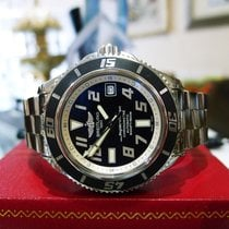 Breitling Superocean 42 Abyss A17364 42mm Stainless Black Date...