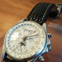 DuBois et fils Silver 40mm Automatic No 328/799 pre-owned