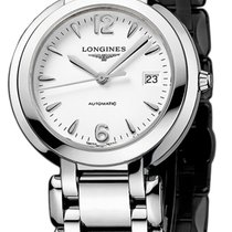 Longines PrimaLuna Steel 30mm White United States of America, New York, Airmont