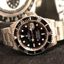勞力士 16610 鋼 Submariner Date 40mm