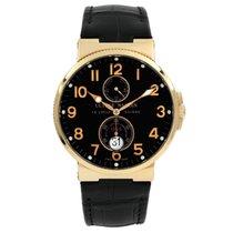 Ulysse Nardin Marine Chronometer 41mm Rose gold 40mm Black Arabic numerals