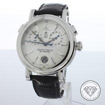 Arnold & Son Chronometer 42mm Automatik Silber