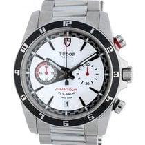 Tudor Grantour Chrono Fly-Back Steel 42mm White No numerals