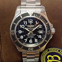 Breitling Superocean II 42 Steel 42mm Black Arabic numerals United Kingdom, Wilmslow