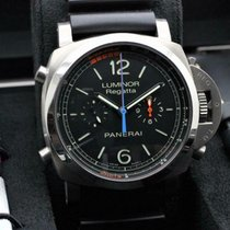 Panerai Luminor 1950 Regatta 3 Days Chrono Flyback Tytan 47mm Czarny