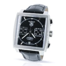 TAG Heuer Monaco Calibre 12 CAW2110 2013 pre-owned