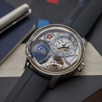 Greubel Forsey GMT White gold 45.5mm Arabic numerals