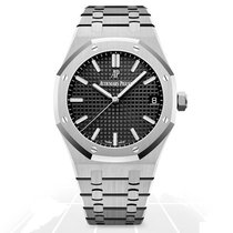 Audemars Piguet Royal Oak Steel 41mm Black United States of America, Iowa, Des Moines