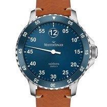 Meistersinger Steel 43mm Automatic SAMX908 new