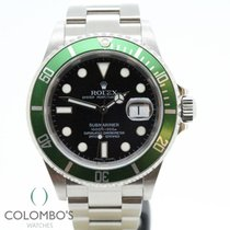 Rolex Submariner Date Acero 40mm Verde Sin cifras España, Granollers, colomboswatches.com