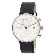 Junghans max bill Chronoscope neu 2020 Automatik Chronograph Uhr mit Original-Box und Original-Papieren 027/4600.04