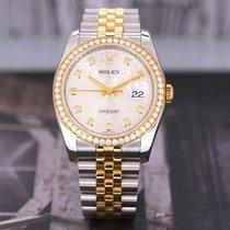 Rolex Datejust 劳力士 116243 Foarte bună Aur/Otel 36mm Atomat