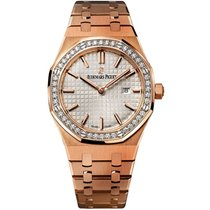 Audemars Piguet Royal Oak Lady Roségold 33mm Silber