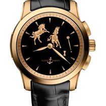 Ulysse Nardin Classic Hourstriker 18K Rose Gold Men's Watch