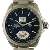 TAG Heuer Grand Carrera Calibre 8RS Grand Date GMT Stahl...