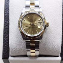 Rolex Datejust Ladies 69163 18k Yellow Gold & Stainless Steel