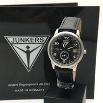 Junkers Dessau 1926 Flatline Steel 39mm Black Arabic numerals
