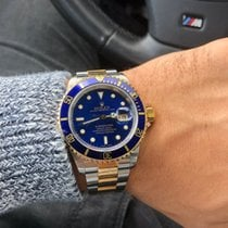 "Rolex Submariner 16613 Date Stahl/Gold ""Blue Dial"""