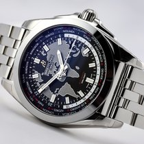 Breitling Galactic Unitime new 2019 Automatic Watch with original box and original papers WB3510U4-BD94