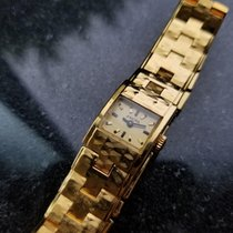 Enicar 15mm Manual winding 1960 pre-owned Champagne