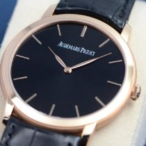 Audemars Piguet Jules Audemars Rose gold 41mm Black