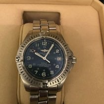 Breitling Colt Quartz Steel 38mm Blue Arabic numerals United States of America, Texas, Lancaster