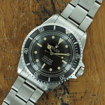 Rolex 5512 Steel 1962 Submariner (No Date) 40mm pre-owned