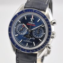 Omega Speedmaster Professional Moonwatch Moonphase Steel 44mm Blue No numerals United States of America, Ohio, Mason