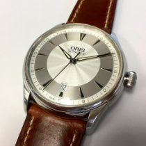 Oris Steel 41mm Automatic 7591 pre-owned New Zealand, Christchurch