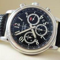 Chopard Mille Miglia gebraucht 42mm Schwarz Chronograph Datum Kautschuk