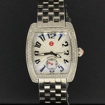 Michele Steel 29mm Quartz MWW02A000124 pre-owned