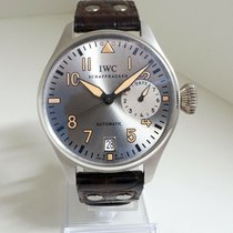 IWC Platina Zilver 46mm tweedehands Big Pilot