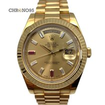 Rolex Day-Date II Yellow gold 41mm Champagne Singapore, Singapore