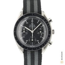 Omega Speedmaster Reduced Aço 39mm Preto