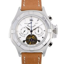 Concord new Manual winding Display Back Small Seconds Power Reserve Display 44mm Platinum