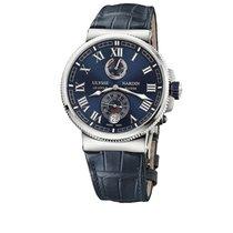 Ulysse Nardin Marine Chronometer Manufacture новые 2018 Автоподзавод Часы с оригинальными документами и коробкой 1183-122-43