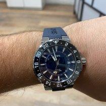 Oris Aquis GMT Date 01 798 7754 4135-07 4 24 64EB 2019 pre-owned