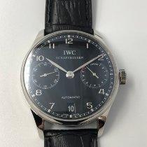 IWC Portuguese Automatic Steel 42mm Black Arabic numerals Malaysia, Kuala Lumpur