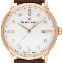 Maurice Lacroix Quarz Weiß 30mm neu Eliros