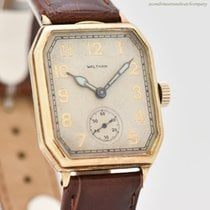 Waltham Very good Yellow gold 27mm Manual winding United States of America, California, Beverly Hills