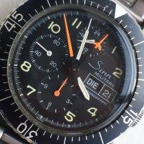 Sinn 156 Acier 43mm Noir Arabes