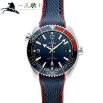 Omega Seamaster Planet Ocean Stahl 44mm Blau