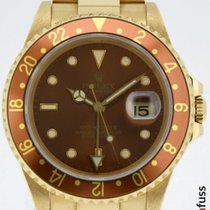 Rolex GMT-Master II Yellow gold 40mm Brown