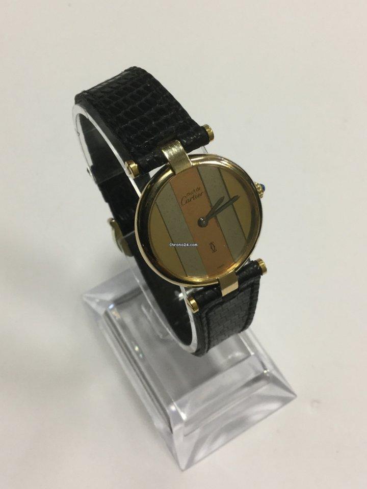 Часы женские Cartier watch 925 argent plaque g20m swiss made с футляром