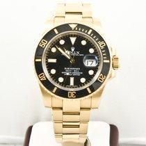Rolex 116618B Or jaune 2010 Submariner Date occasion