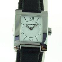 Montblanc Damen Uhr Lady Watch Ref. 7047 Profile Leder schwarz...