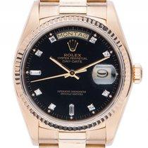 Rolex Day Date 18kt Gelbgold Diamond Automatik Armband...