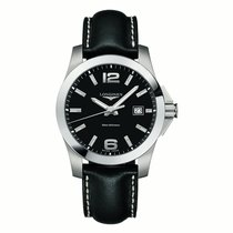 Longines Conquest  Mens Qtz Watch L37594583